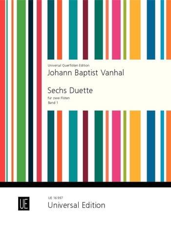 6 Duette - Band 1 - 2 Flöten - laflutedepan.com