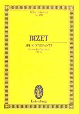 BIZET - Children's Games Op. 22 - Partition - di-arezzo.co.uk