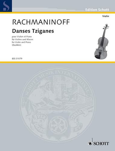 RACHMANINOV - Gypsy dances - Partition - di-arezzo.co.uk