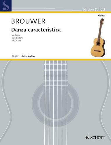 Danza caracteristica - BROUWER - Partition - laflutedepan.com