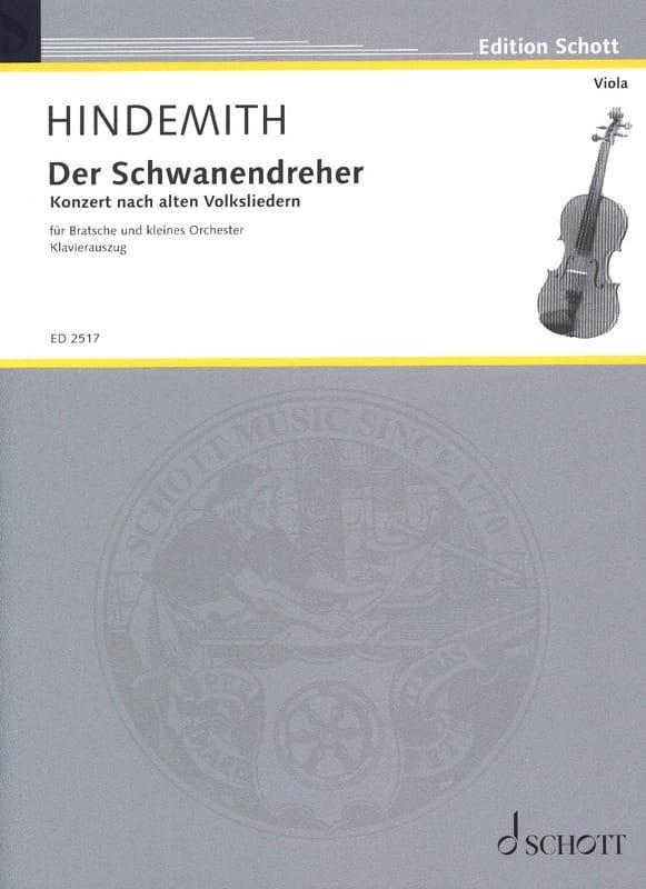 Der Schwanendreher 1935 - HINDEMITH - Partition - laflutedepan.com