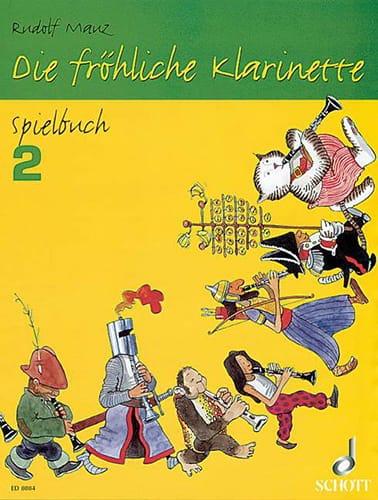 Die fröhliche Klarinette - Spielbuch 2 - laflutedepan.com