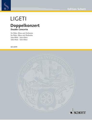 Doppelkonzert 1972 - Solo Stimmen - LIGETI - laflutedepan.com
