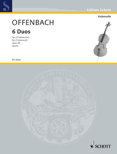 Jacques Offenbach - 6 Duos, op. 49 - Partition - di-arezzo.com