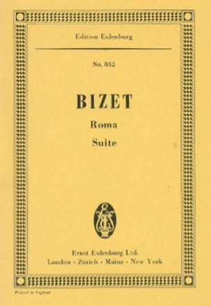 BIZET - Roma - Partition - di-arezzo.co.uk
