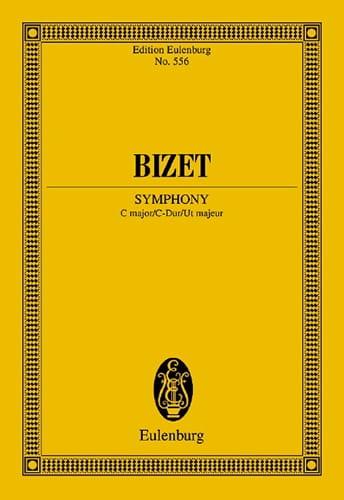 BIZET - Sinfonie C-Dur Do M. - Driver - Partition - di-arezzo.co.uk