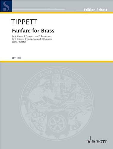 Fanfare for brass - Score - Michael Tippett - laflutedepan.com