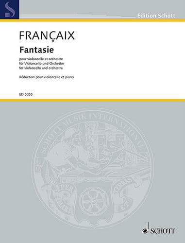 Jean Françaix - Fancy - Partition - di-arezzo.co.uk