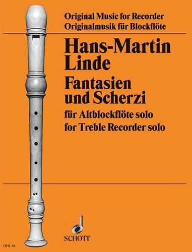 Hans-Martin Linde - Fantasian and Scherzi - Partition - di-arezzo.com