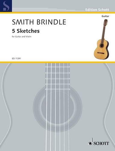 5 Sketches - Brindle Reginald Smith - Partition - 0 - laflutedepan.com