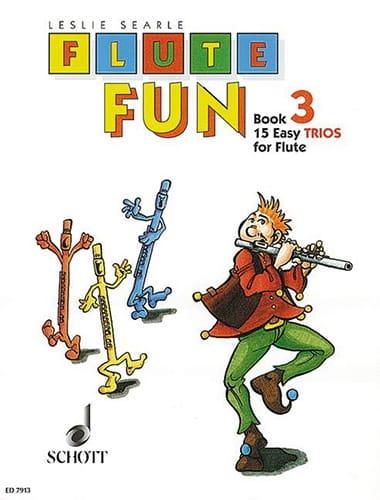 Flute Fun - Book 3 - Flute Trios - Leslie Searle - laflutedepan.com