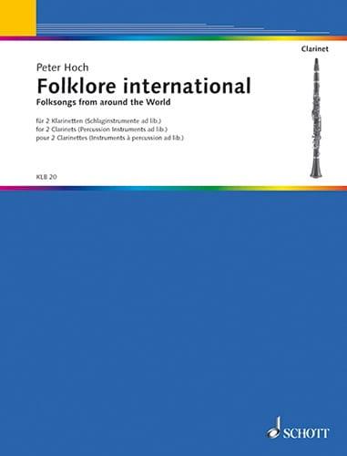 Folklore International - 2 Clarinettes - laflutedepan.com