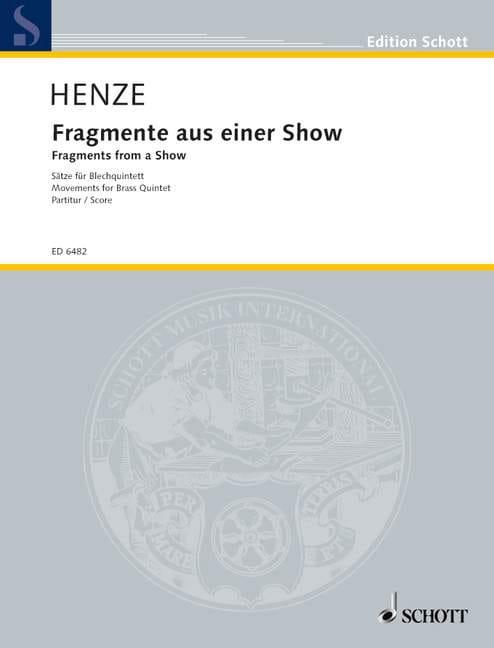 Fragmente aus einer Show - Blechquintett - laflutedepan.com