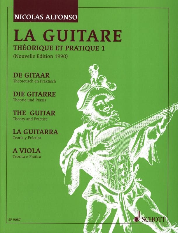Nicolas Alfonso - Theoretical and Practical Guitar - Volume 1 - Partition - di-arezzo.co.uk