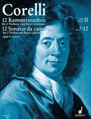 CORELLI - 12 Kammersonaten op. 4 Bd. 2: Nr. 7-12 - 2 Violinen u. Bc - Partition - di-arezzo.com