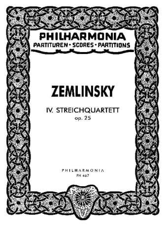 Streichquartett Nr. 4 op. 25 - Partitur - laflutedepan.com