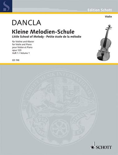 DANCLA - Kleine Melodien-Schule op. 123, Heft 1 - Partition - di-arezzo.co.uk