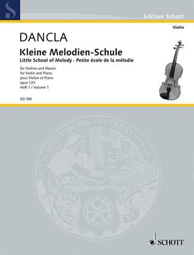 DANCLA - Kleine Melodien-Schule op. 123, Heft 1 - Partition - di-arezzo.com