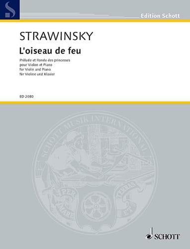 Igor Stravinsky - Prelude and Princess Round - Partition - di-arezzo.com