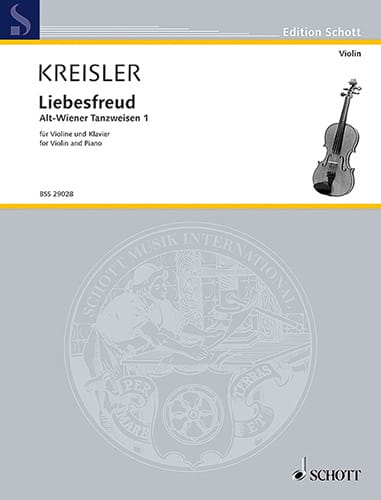 Fritz Kreisler - Liebesfreud - Partition - di-arezzo.co.uk