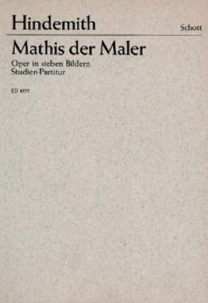 Mathis der Maler - HINDEMITH - Partition - laflutedepan.com