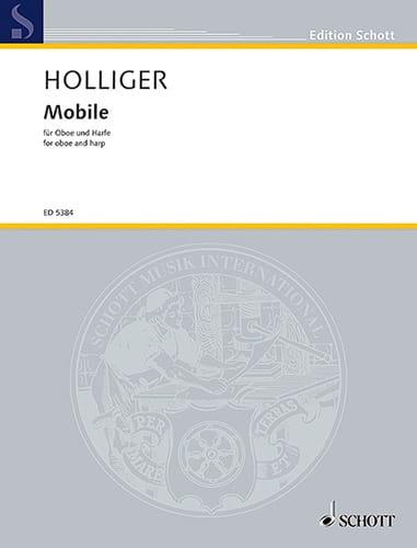 Mobile - Heinz Holliger - Partition - Duos - laflutedepan.com