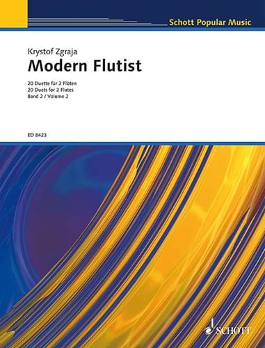 Modern Flutist Volume 2 - Krzysztof Zgraja - laflutedepan.com