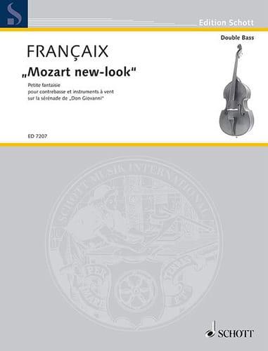 Mozart new-look - contrebasse piano - FRANÇAIX - laflutedepan.com
