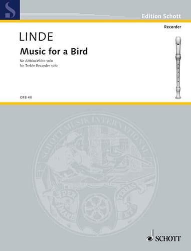 Hans-Martin Linde - Music for a Bird - Partition - di-arezzo.com