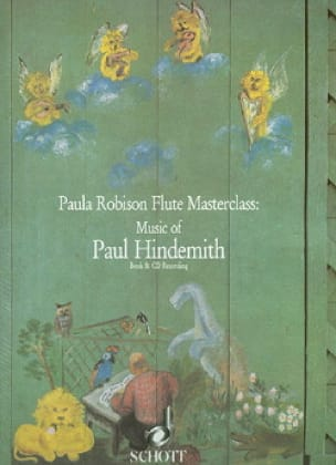 Music of Paul Hindemith - Book - HINDEMITH - laflutedepan.com