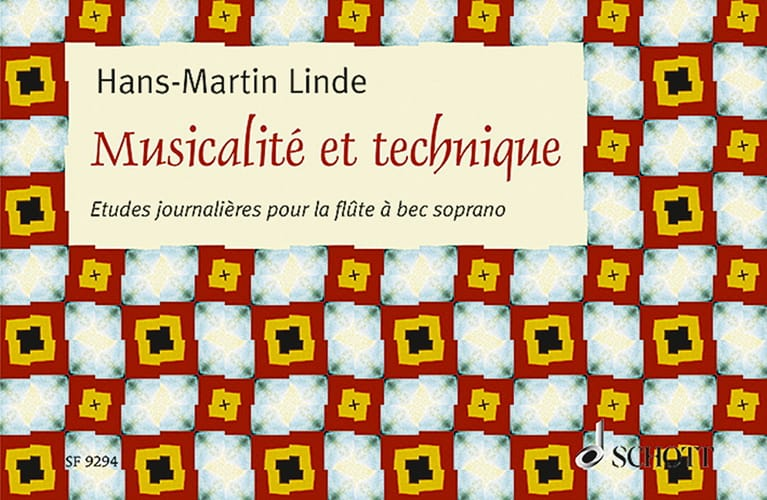 Hans-Martin Linde - Musicality and Technique - Partition - di-arezzo.com