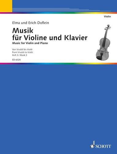 Musik für Violone und Klavier, Bd. 3 - laflutedepan.com