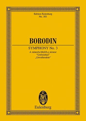 Sinfonie Nr. 3 a-moll - Alexandre Borodine - laflutedepan.com