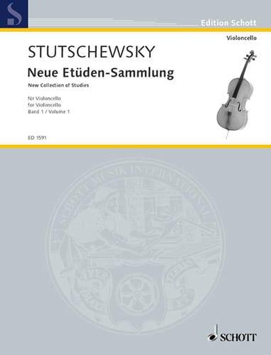 Joachim Stutschewsky - Neue Etüden-Sammlung - Bd. 1 - Partition - di-arezzo.co.uk