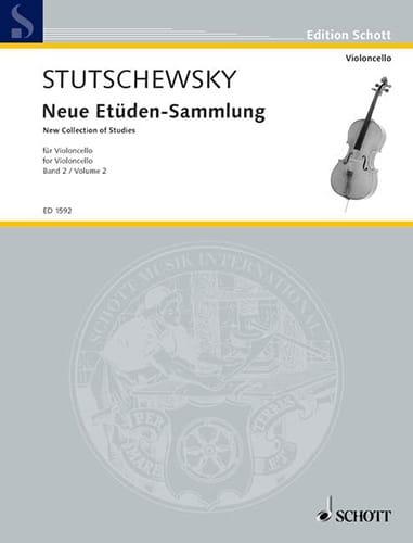 Joachim Stutschewsky - Neue Etüden-Sammlung - Bd. 2 - Partition - di-arezzo.co.uk