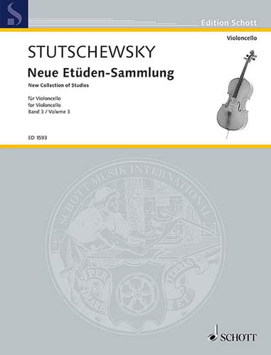 Neue Etüden-Sammlung - Bd. 3 - Joachim Stutschewsky - laflutedepan.com