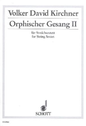 Orphischer Gesang II -Partitur + Stimmen - laflutedepan.com