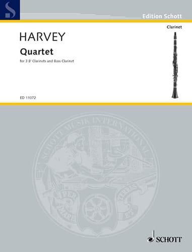Quartett - Paul Harvey - Partition - Clarinette - laflutedepan.com