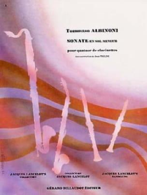 Sonate en Sol mineur - ALBINONI - Partition - laflutedepan.com