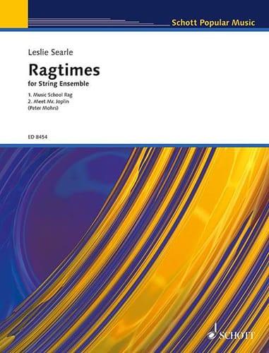 Ragtime for String Ensemble - Leslie Searle - laflutedepan.com