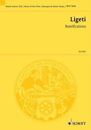 Ramifications - Partitur - LIGETI - Partition - laflutedepan.com