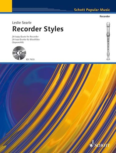 Recorder Styles - Leslie Searle - Partition - laflutedepan.com