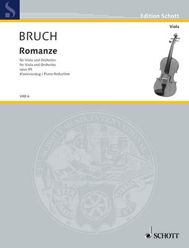 Romanze für Viola, F-Dur, op. 85 - BRUCH - laflutedepan.com
