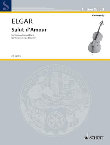 ELGAR - Hi of Love opus 12 N ° 4 - Partition - di-arezzo.com