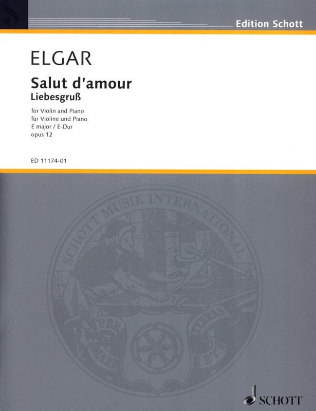 ELGAR - Hi love op. 12 in E Major - Partition - di-arezzo.co.uk