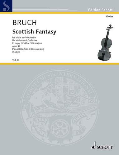 Max Bruch - Schottische Fantasie op. 46 - Partition - di-arezzo.ch