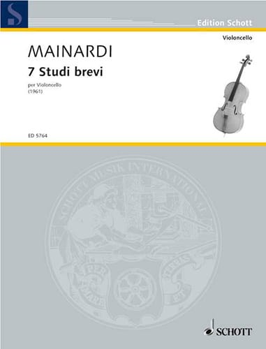 7 studi brevi - Enrico Mainardi - Partition - laflutedepan.com