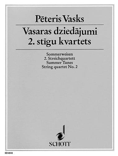 Sommerweisen - Quatuor à Cordes n° 2 - laflutedepan.com