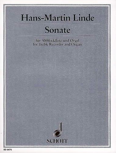 Sonate - Altblockflöte Und Orgel - laflutedepan.com
