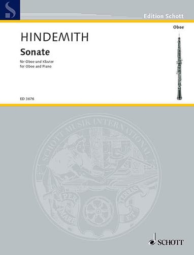 Paul Hindemith - Sonata 1938 - Partition - di-arezzo.co.uk